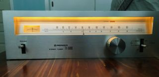 Pioneer Model Tx - 5500 Ii Am - Fm Stereo Tuner,  Smoooth Spec