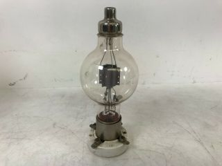 Early Eimac 50t Triode Tube And Socket