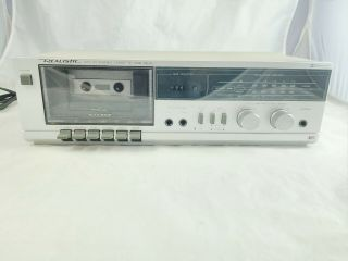 Vintage Realistic Sct - 35 Stereo Cassette Tape Deck And Good Shape