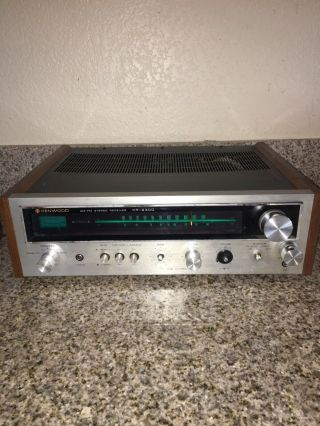 Kenwood Kr - 2300 Solid State Am - Fm Stereo Receiver Turn On Must