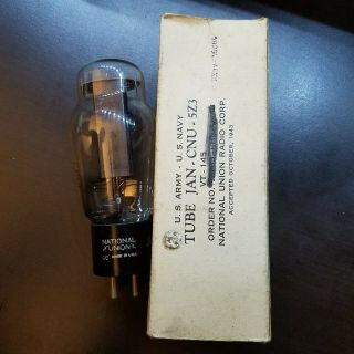 1 Nos Nib National Union 5z3 Vt - 145 Smooth Plate Hanging Filament Tube