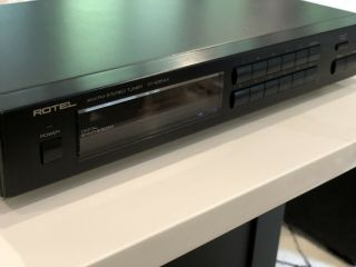 Rotel Rt - 935 Ax Stereo Tuner Vintage