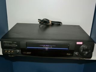Panasonic Pv - 9662 4 Head Vcr - - No Remote (player Only)