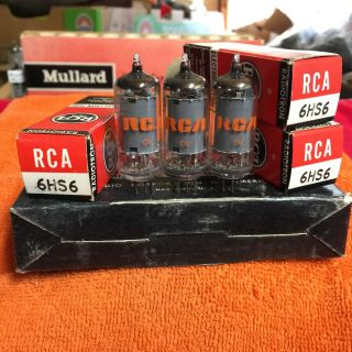 Nib Rca 6hs6 Vacuum Tube ; (3) Available Fisher 400 Recievers