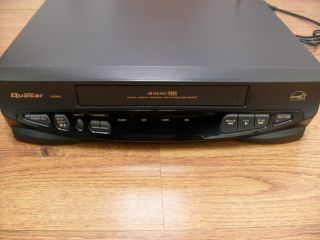 Quasar Vhq830 Vcr Vhs Player/recorder No Remote Great