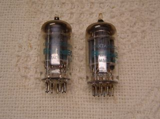 12ax7a Phillips Dual Triode Electronic Vacuum Tube Tubes Valve