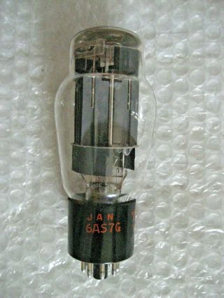 1 X Nos Jan 6as7g Rca Twin Power Triode - 752 - 1968