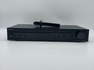 Vintage Toshiba Stereo Tuner Model St - U22 Made On Japan With Antenna