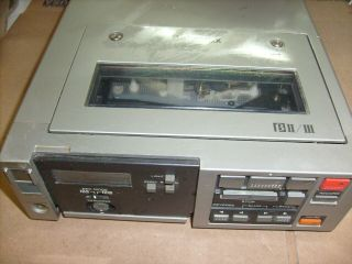 Sony Sl - 2000 Betamax Portable Video Cassette Recorder