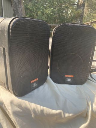 Jbl Control One Studio Speakers Music Set Monitors And