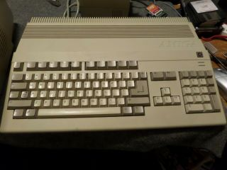 Amiga 500 With Meanwell Psu,  Tf534 Accelerator,  1084s Monitor,  Df0 Selector Asis