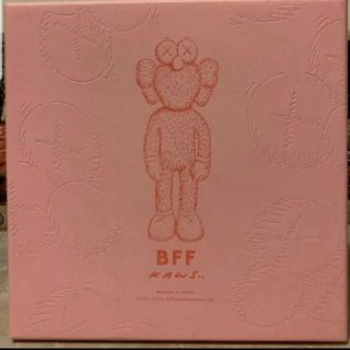 Authentic Kaws Bff Pink Plush Moma Limited Edition 3000 2019