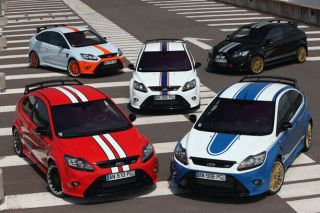 Very Rare Minichamps Ford Focus Rs Le Mans Edition All 5 Versions Bnib