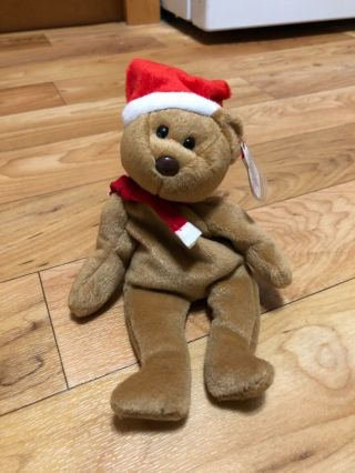 Ty Beanie Baby 1997 Holiday Teddy Bear (1996)
