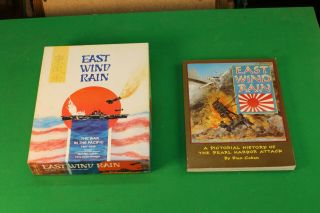 East Wind Rain - War In Pacific 1941 - 45,  Unpunched - 3w Plus Extra