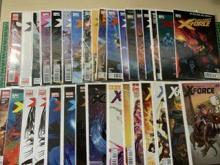 Uncanny X - Force Complete Run,  Variants And,  Deadpool,  Wolverine,  X - Men