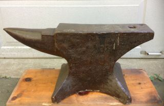 Antique Anvil 249 Lbs (made In England)