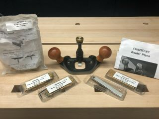 Veritas Large Router Plane With Optional Router Plane Fence